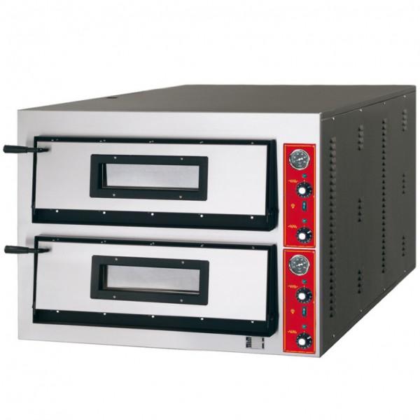 ggf pizzaofen 6 6 d35 18kw 6 6 pizzen zweikammer elektropizza fen pizza fen. Black Bedroom Furniture Sets. Home Design Ideas