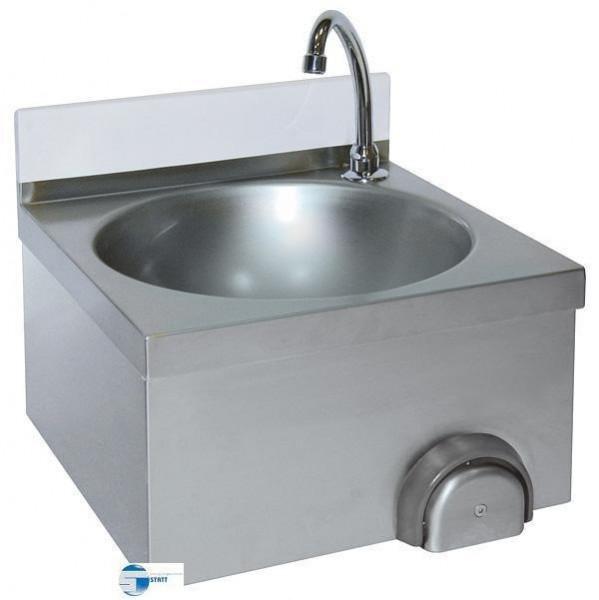Hand waschbecken mit Kniebedienung 400x400x235