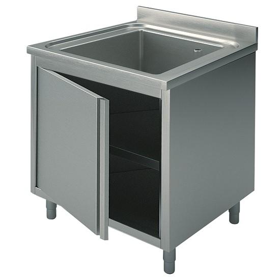 Premium Spülschrank 600-800x700x850 1 Becken
