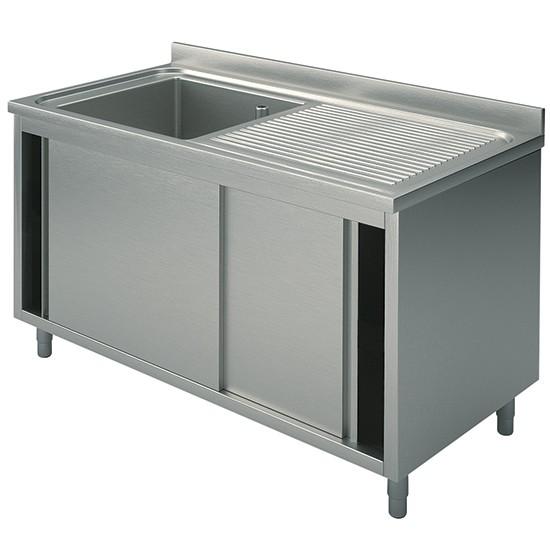 Premium Spülschrank 1000-1500x700x850 1 Becken re/li