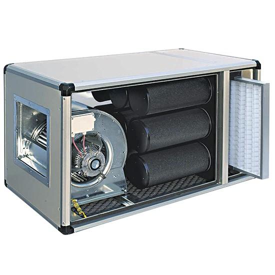 Abluftfilter 2500m³/h Aktivkohlefilter