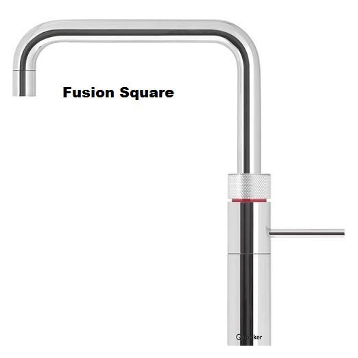 Quooker Fusion Square Fusion Round + CUBE