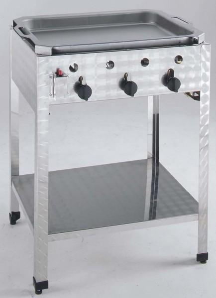 Neumärker Gas-Kombi-Standbräter 3 Brenner